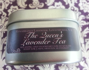 The Queen's Lavender Tea