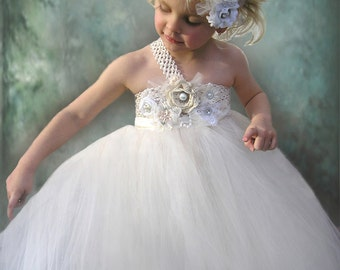 Flower Girl Dress in sizes newborn to 12 years old, other colors available