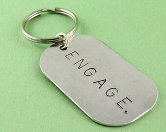 Engage Keychain - Key Ring - Key Chain - Key Ring - Key Fob