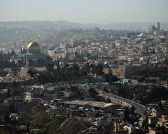 Israel Photography - The Old City - Jerusalem - Israel - 8x10 Fine Art Photograph - Wall Art