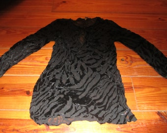 Vtg.  Victorias Secret Goth/vampire Top Size Small