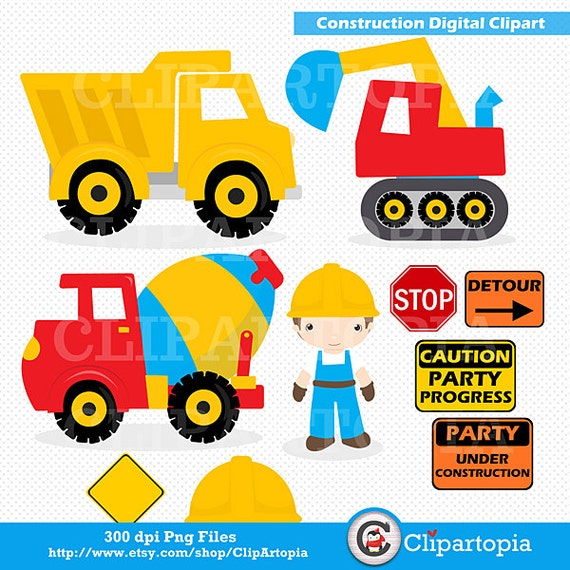 "Clipart : ""CONSTRUCTION CLIPART"", Trucks ClipArt, Dump Truck clip ..."