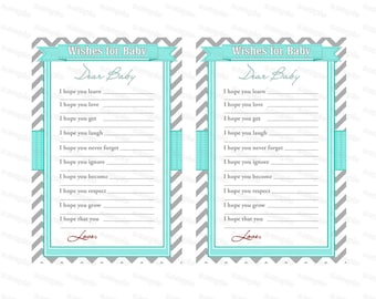 Boy Baby shower wishes baby shower well wishes boy baby shower (01) instant download