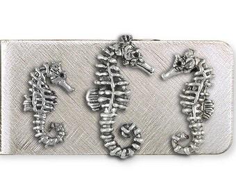 Seahorse Money Clip Jewelry SE2-MC