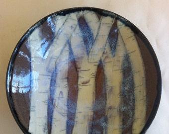 handmade birch tree bowl