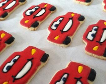 Lightning McQueen Sugar Cookie