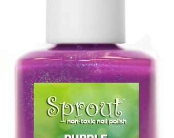 Sprout Non Toxic Purple Wings Single Polish