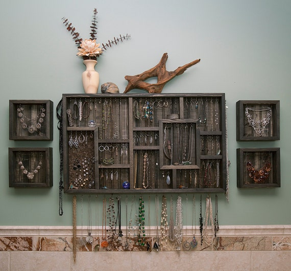 - Items Similar To Wall Hanging Jewelry Organizer On Etsy