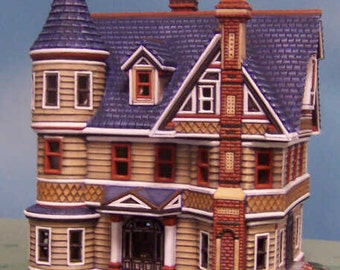 """Ready to Paint Ceramic Bisque """"Eastlake House"""""""