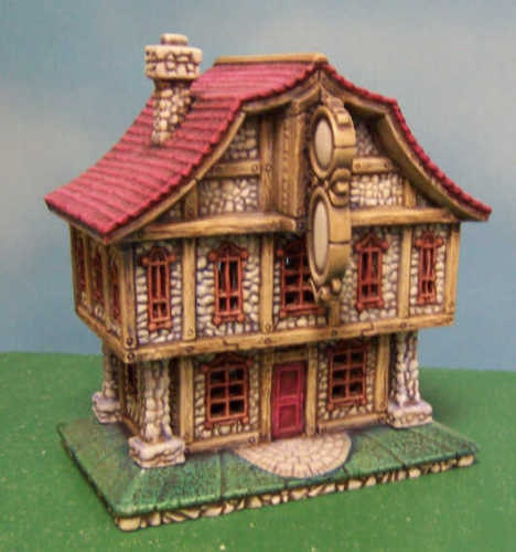 Shop House: Ready To Paint Ceramic Bisque Candy Shop / House