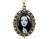 Morticia Addams Necklace