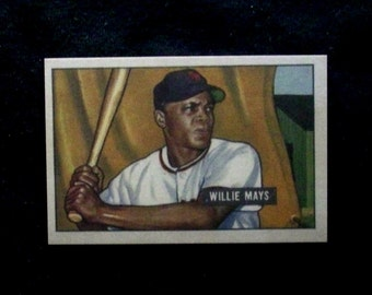 1983 SHSCC 51 Bowman Rookie RP #24 Willie Mays [New York Giants]