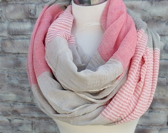 Infinity  scarf for Woman great accessory for your outfit
