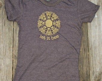 Women's- Let it Bee- Rustic Brown