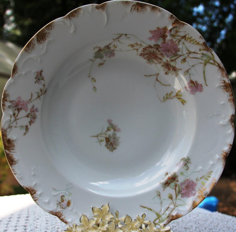 Antique Limoges Plates H&C Limoges France Haviland And Co