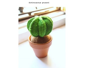 Cactus Amigurumi - PATTERN Catus: Crochet Pattern. PDF. Digital Download