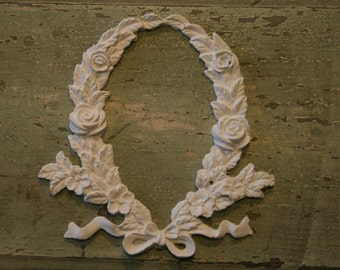 Shabby Chic Furniture Appliques / furniture mouldings / Romantic Cottage / french country / cottage decor / architectural pieces