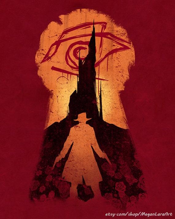 "He Followed - ""The Dark Tower"" -  8x10 signed lustre art print"