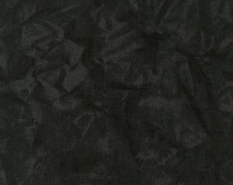 Black crystal patterned fabric.
