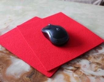 Mouse Mat Pad Eco Friendly Color Felt 4 mm NICE New Fabric Felt Third FREE