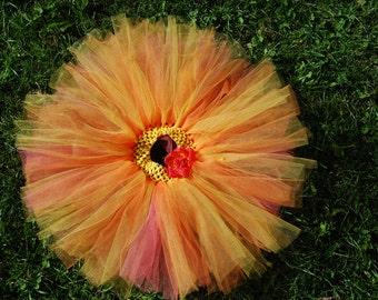 Sunrise - Baby girl tutu skirt