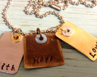 3 TAG necklace