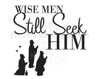 """Wise Men Vinyl decal - 11""""x11"""""""