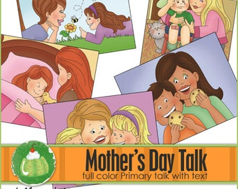 MOTHER'S DAY Primary Talk - Downloadable File