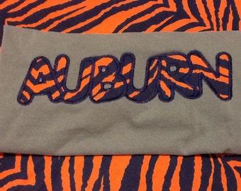 Auburn Tigers T-Shirt - War Eagle - Auburn Shirt - Long or Short Sleeve - Football Tee