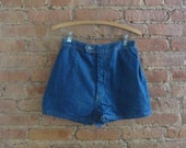 1970s denim hot pants (deadstock) | 70's Rock 'N Roll Disco | S to M | Hot Child In The City
