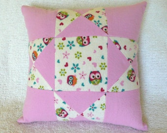 Little Owl's Children's Pillow