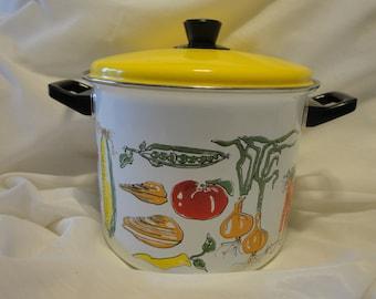 Enamel Cooking Pot/Lobster Pot/Vegetable Pan