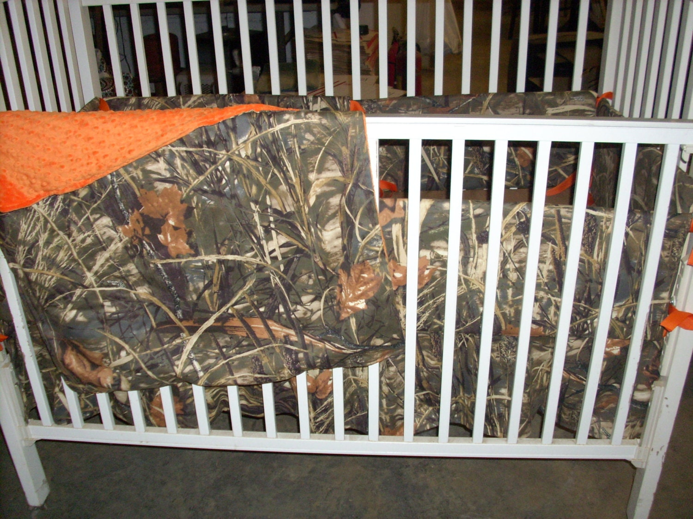 Max 4 Camouflage Crib Bedding