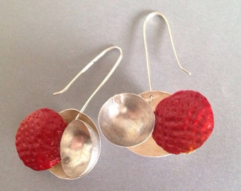 Strawberry Cup Earrings