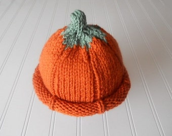 The Perfect Pumpkin Baby Hat