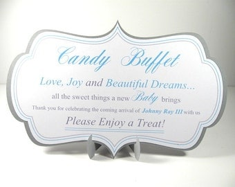 Candy Buffet Sign - Baby Shower
