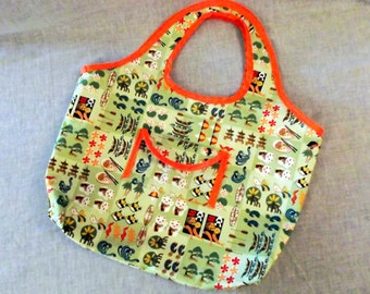 Kawaii Hawaiian Tote Bag/ Purse