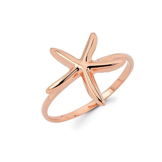 starfish starfish ring gold starfish sea jewelry starfish