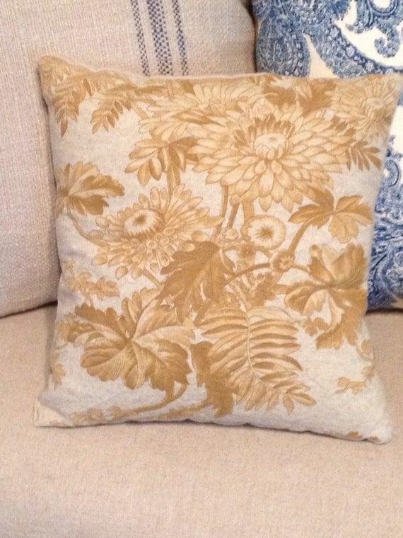 Decorative Pillows Small : SALE Small Fall Decorative Pillow.
