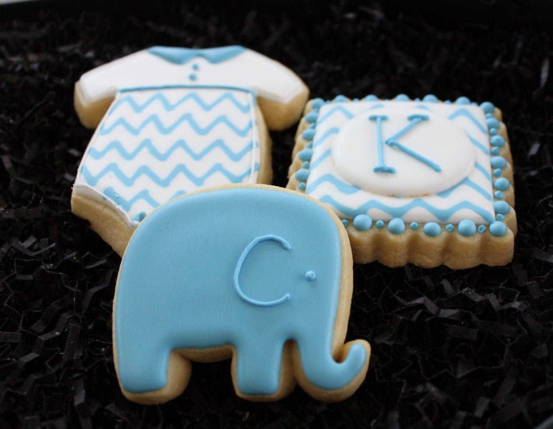 Baby Shower Cookies Favors ~ Baby shower cookies custom favors