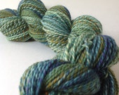 The Family Jewels - dyed in the wool, bfl superwash sock yarn, hand dyed, millspun