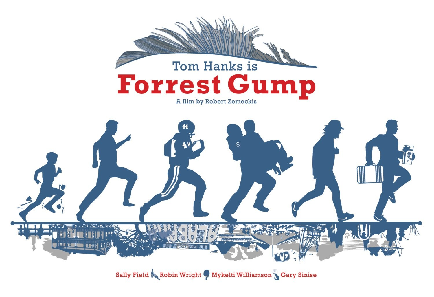 Forrest Gump Running As A Kid Second edition forrest gumpForrest Gump Running Kid