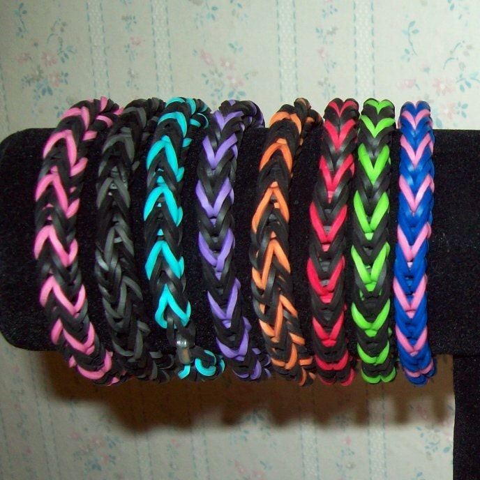 Rainbow Loom Rubber Band Bracelet Fishtail Design