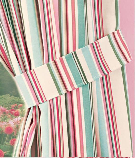 Fabric Tie Backs By CuttingCloth On Etsy
