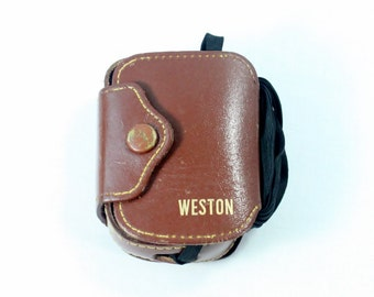 Vintage 1940s Weston Model 855 Exposure Meter