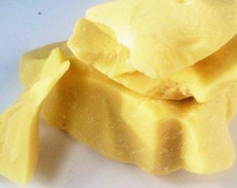 Organic Fair-Trade  Raw Cacao Butter 1 lb bag.