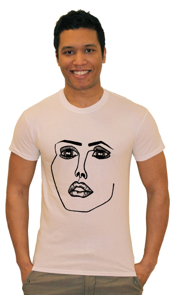items similar to disclosure face white noize t shirt on etsy