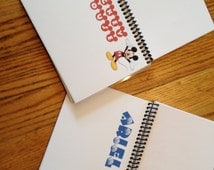 Make Your Own Disney Autograph Book 4x5 80+ characters including Star Wars and FROZEN! Personalized covers available!
