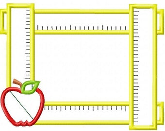 Ruler Frame Machine Embroidery Design