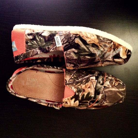 Women S Camouflage Toms Shoes